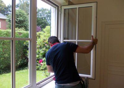 Reiniging van ramen