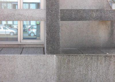 NETTOYAGE BETON ARCHITECTONIQUE RUGUEUX