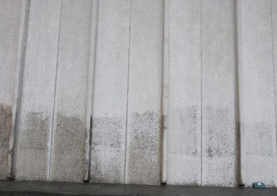 Reiniging gegroefd beton